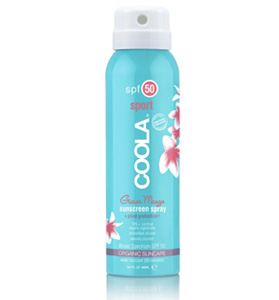 coola travel guava mango SPF 50